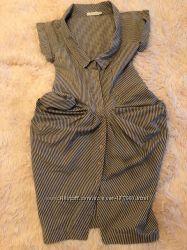 Брендовое раритетное платье миди All Saints, оригинал, Англия, р-р 10