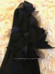Нарядное новое платье с цветком Zara, Испания, р-р 38