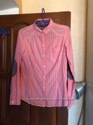 Стильная рубашка в полоску Zara, р-р S
