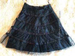 Брендовая нарядная юбка миди Day Birger&Mikkelsen, оригинал, р-р 36