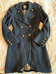 Кашемировое пальто дорогого бренда Biba, Англия, р-р 8