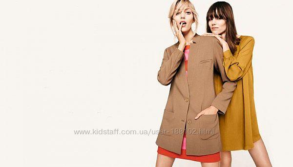 H&M. Удлиненный жакет-пальто. Размер 36.