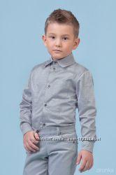 Комплект брюки вельвет рубашка 110-122 Zironka
