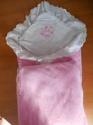 Конверт - одеяло для девочки
