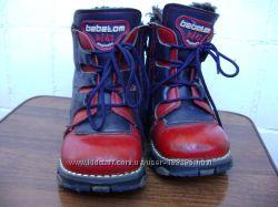Кожаные ортопедические ботиночки Bebetom