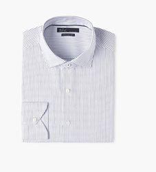 Приталенная мужскя рубашка Mango Slim Fit