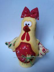 Интерьерная текстильная игрушка ручная работа