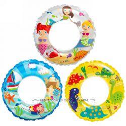 Круг надувной детский Intex 59242 61 см 6-10 лет