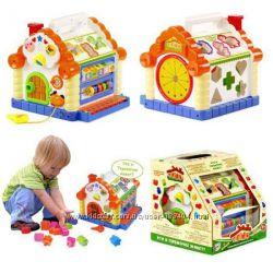 Интерактивная логическая игрушка сортер Теремок Joy Toy 9196