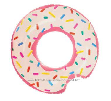 Надувной круг Пончик большой Intex 56265 в коробке