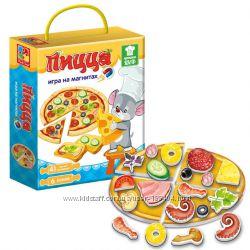 Игра магнитная Пицца Vladi Toys VT3004-08