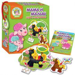 Игра с липучками Мама и Малыш Vladi toys VT1310-04