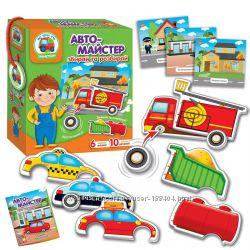 Игра с подвижными деталями Автомастер для маленьких Vladi Toys VT2109-01