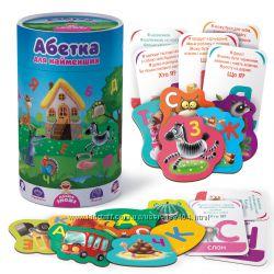 Абетка для найменших в тубусі, Vladi toys, VT2911-03