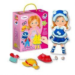 Игра магнитная - одевайка Соня Vladi Toys, VT3702-07