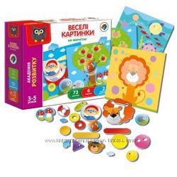 Игра магнитная для малышей Веселые картинки Vladi Toys, VT5422-06