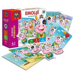 Магнитная игра  Эмоции Vladi Toys, VT5422-05