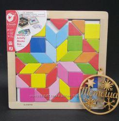 Магнитная мозаика с зеркалами Визуализация Classic world 3536