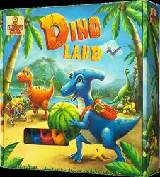 Dino land настольный квест о динозаврах Bombat game 4820172800224