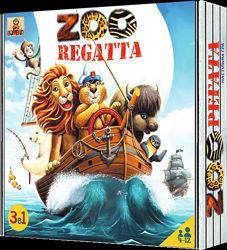Зоорегата zooregatta 3 приключения в одной коробке Bombatgame 4820172800019