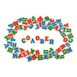 Украинский алфавит на магнитах  Український алфавіт Komarovtoys J704
