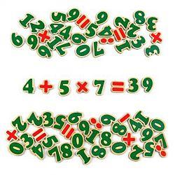 Цифры и знаки на магнитах  Цифри та знаки на магнітах Komarovtoys J706
