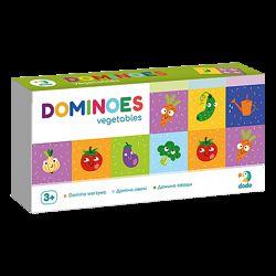 Настольная игра DoDo Домино Овощи  Доміно Овочі 300249 Dodo