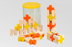Деревянная игрушка конструктор Крестики  Хрестики КС-009 Tato Тато