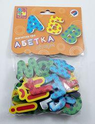 Магнитная игра Азбука  Магнітна гра Абетка, Vladi toys VT5900-02