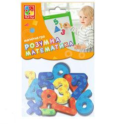 Магнитная игра Цифры и геометрические фигуры Vladi toys VT5900-01