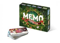 Настольная игра Мемо. Новый год  Гра Мемо. Новий рік 18259 Нескучные игры