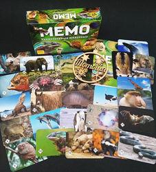 Настольная игра Мемо. Удивительные животные  Тварини 7207 Нескучные игры