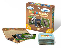 Игра Мими Мемо Домашние животные Домашні тварини 8051 Нескучные игры