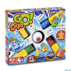 Настольная игра Скоростные колпачки Швидкі ковпачки Go cups 7401 Fun game