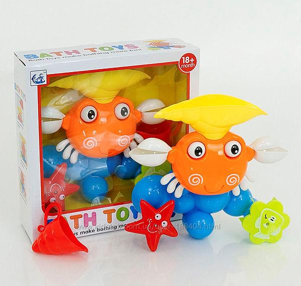 Игрушка для ванной на присоске Водопад Краб / Водоспад Краб Bath Toys 9903