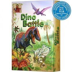 Настольная игра Dino battle, Дино батл, Гра Діно 4820172800255 Bombat game