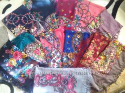Шикарные платки, шарфы, огромный выбор супер качество
