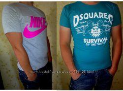 Распродажа турецких мужских футболок в хлопке Nike, Adidas, Puma, Dsquared