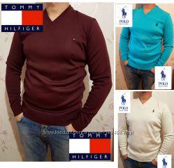 Шикарные свитера tommy hilfiger, Ralph Lauren, Lacoste