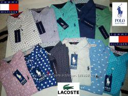 Новые модели женских рубашек Tommy Hilfiger, Lacoste, Ralph lauren