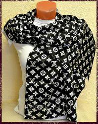 Распродажа брендовых  бомбезных   ярких шарфиков Louis Vuitton
