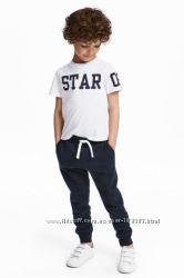 Спортивные штанишки мальчишкам от H&M и др. Большой выбор