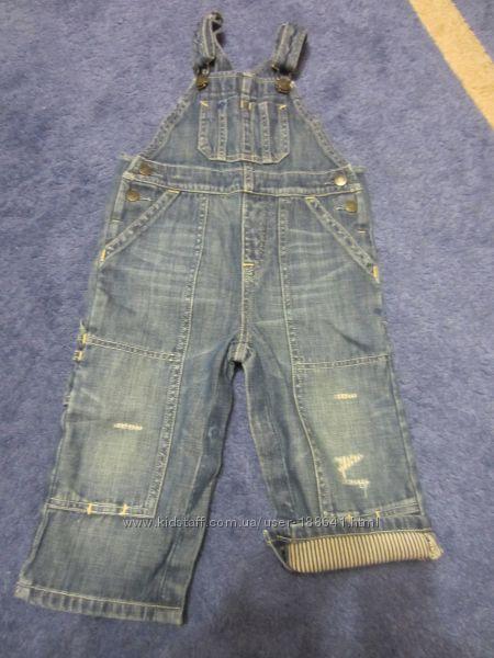 Крутейший джинсовый комбинезон Baby Gap