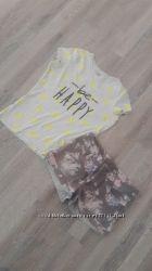 Шортики плюс футболка ostin в подарок Lindex