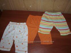 Mothercare штанишки 3 шт 0-3 месяца