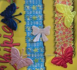Бабочки 2, 5 см для одежды и можно для заготовки открыток