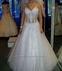 Шикарное свадебное платье ТМ Юнона