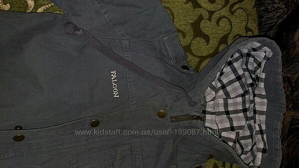 Котоновая, джинсовая куртка р134