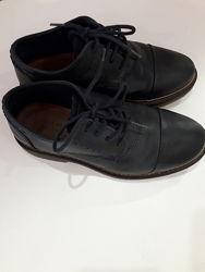 Стильные кожаные туфельки Zara