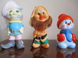 Игрушки резиновые